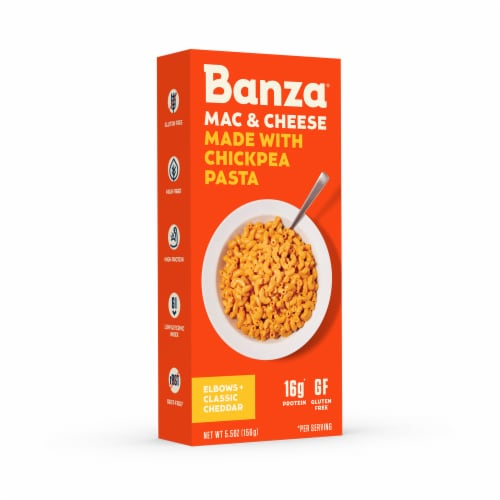 Banza Mac & Cheese Classic Cheddar Chickpea Pasta Perspective: right