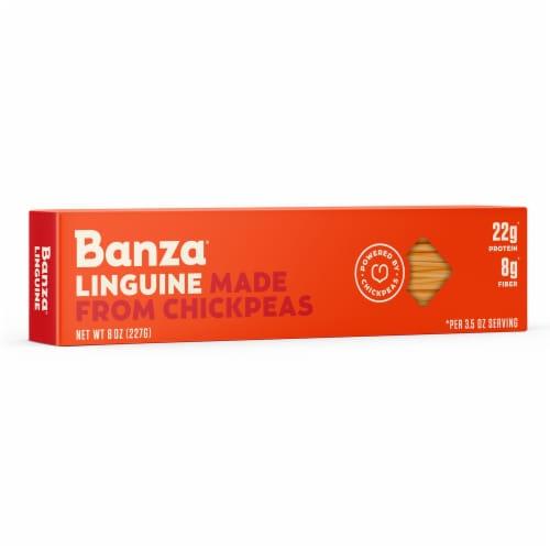 Banza Chickpea Linguine Pasta Perspective: right
