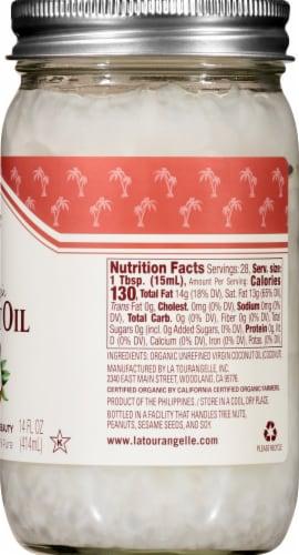 La Tourangelle Organic Virgin Coconut Oil Perspective: right