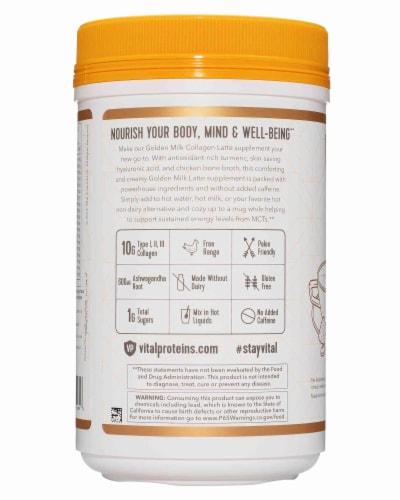 Vital Proteins Collagen Latte - Golden Milk Perspective: right