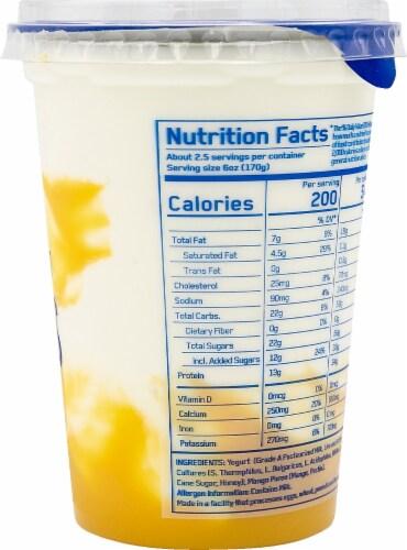 Ellenos Mango Real Greek Yogurt Perspective: right