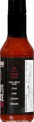 St. Elmo Steak House Izzy's Steak Sauce Perspective: right
