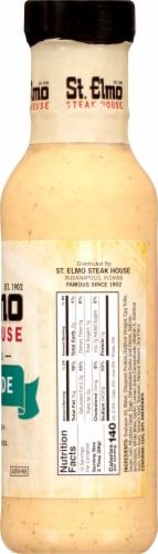 St. Elmo Steak House Remoulade Dressing Perspective: right