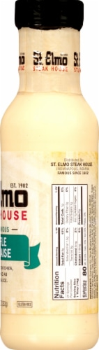 St. Elmo Steak House Truffle Dijonnaise Sauce Perspective: right