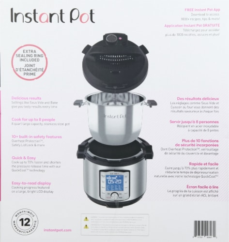 Instant Pot® Duo Evo Plus Pressure Cooker Perspective: right