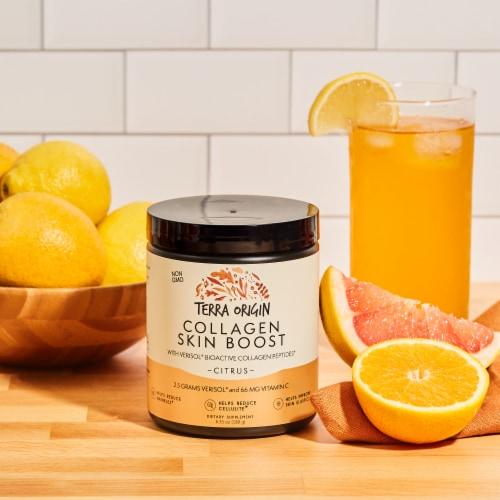 Terra Origin Citrus Verisol Collagen Skin Boost Powder Perspective: right