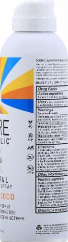 Bare Republic Vanilla-Coco Mineral Sunscreen Spray SPF 50 Perspective: right