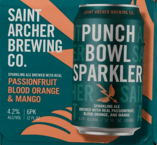 Saint Archer Brewing Company Punch Bowl Sparkler Sparkling Ale Perspective: right