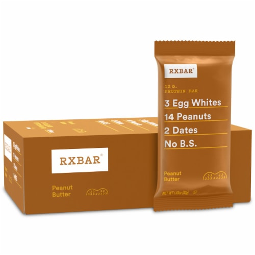 RXBAR Peanut Butter Protein Bars Perspective: right