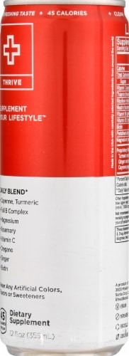Lifeaid Thrive Daily Blend Supplement Drink Perspective: right