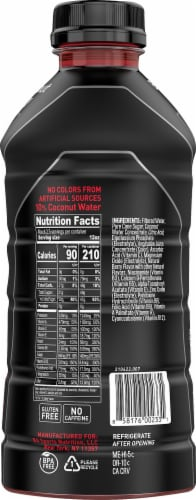 BODYARMOR SuperDrink Blackout Berry Sports Drink Perspective: right