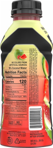 BODYARMOR SuperDrink Watermelon Strawberry Sports Drink Perspective: right