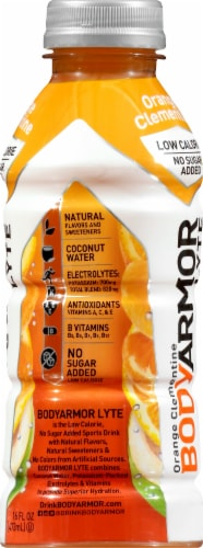 BODYARMOR Lyte Orange Clementine Sports Drink Perspective: right