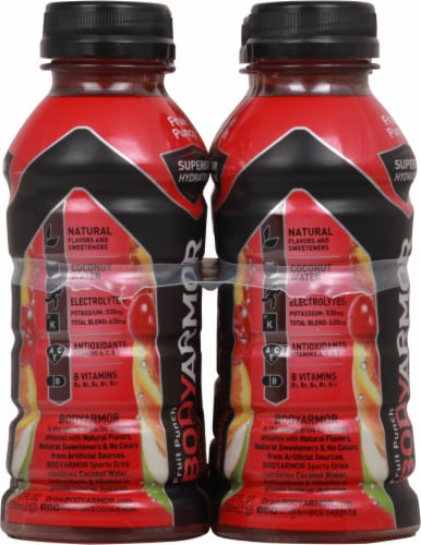 BODYARMOR Fruit Punch Sports Drink 8 Bottles Perspective: right