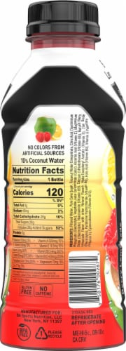 BODYARMOR SuperDrink Berry Lemonade Sports Drink Perspective: right