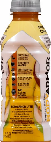 BODYARMOR Lyte Tropical Coconut Sports Drink Perspective: right