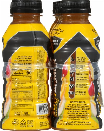 BODYARMOR SuperDrink Tropical Punch Sports Drink Perspective: right