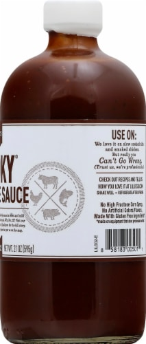 Lillie's Q Smoky Memphis-Style Sweet Barbeque Sauce Perspective: right