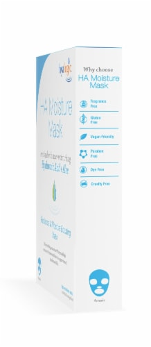 Ha Moisture Mask 4-Pack with Hyaluronic Acid Perspective: right