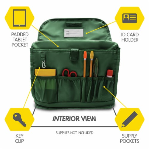 Bixbee Medium Dino Camo Backpack - Green Perspective: right