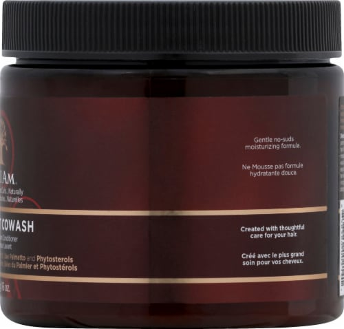 As I Am Coconut CoWash Cleansing Cream Conditioner Perspective: right