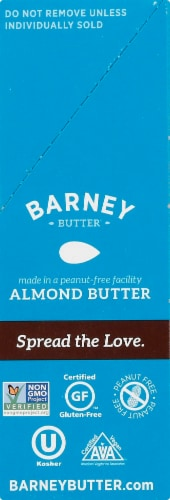 Barney Butter Smooth Almond Butter On-The-Go Snack Packs 6 Count Perspective: right
