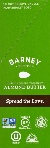 Barney Butter Crunchy Almond Butter Snack Packs Perspective: right