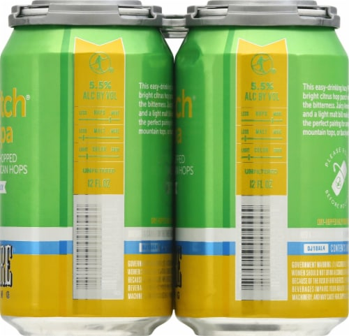 Hi-Wire Brewing Lo-Pitch Hazy IPA Perspective: right