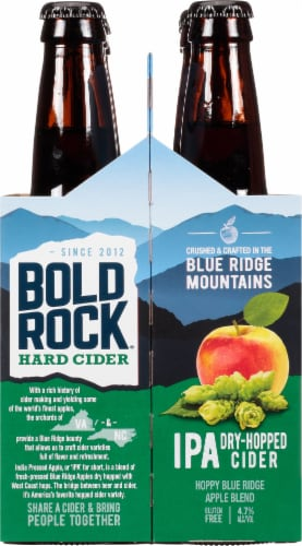 Bold Rock India Pressed Apple IPA Perspective: right