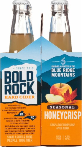 Bold Rock® Seasonal Hard Cider Perspective: right