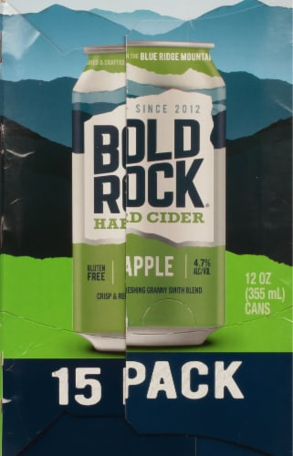 Bold Rock® Hard Apple Cider Perspective: right