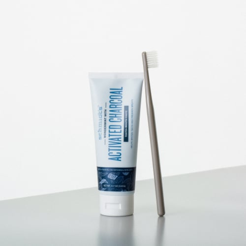 Schmidt's™ Flouride-Free Wondermint Toothpaste with Activated Charcoal Perspective: right