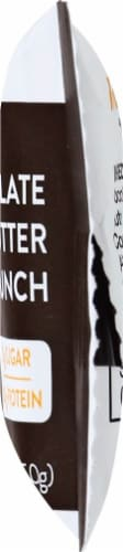 Truth Bar Chocolate Peanut Butter Crunch Probiotic Bar Perspective: right