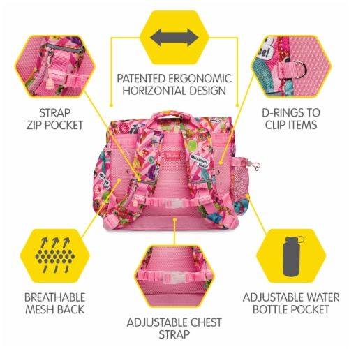 Bixbee Medium Funtastical Backpack Perspective: right