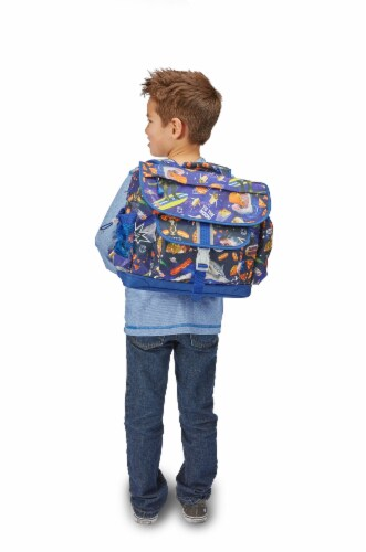 Bixbee Meme Space Odyssey Large Backpack Perspective: right