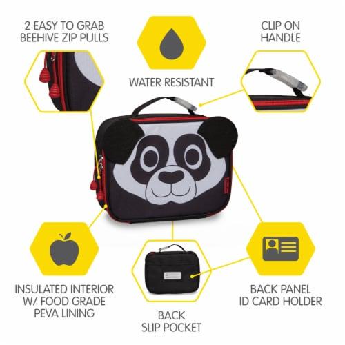 Bixbee Animal Pack Panda Lunchbox Perspective: right