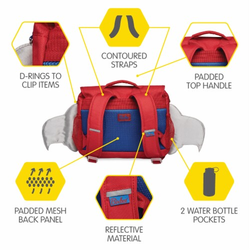 Bixbee Small Firebird Flyer Backpack Perspective: right