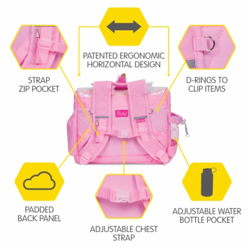 Bixbee Animal Pack Medium Unicorn Backpack Perspective: right