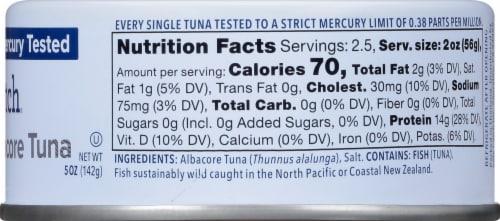 Safe Catch Wild Albacore Tuna Perspective: right