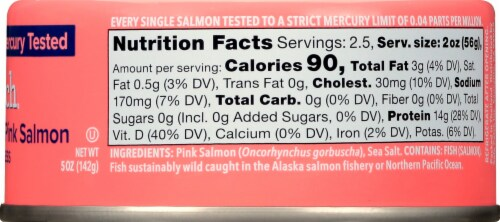 Safe Catch Pacific Wild Pink Salmon Perspective: right