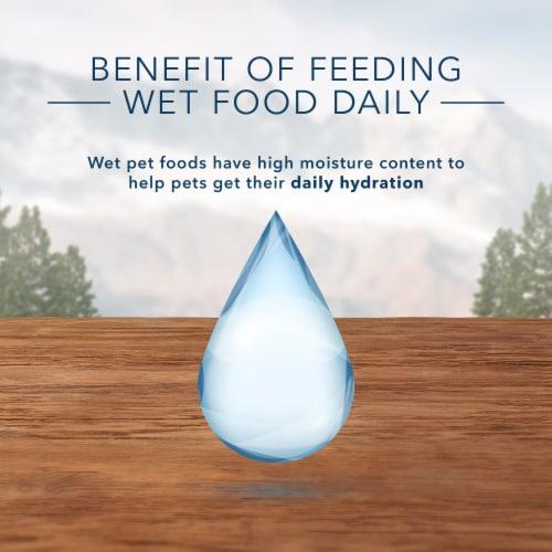 Blue Wilderness Chicken Recipe Wet Cat Food Perspective: right