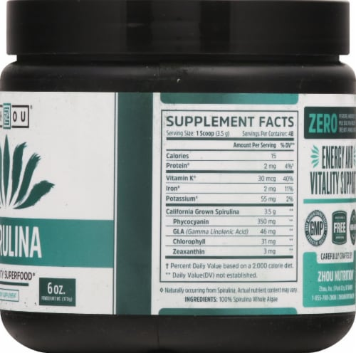 Zhou  Spirulina Perspective: right
