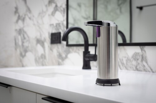 NuvoMed Automatic Sanitizer & Soap Dispenser Perspective: right