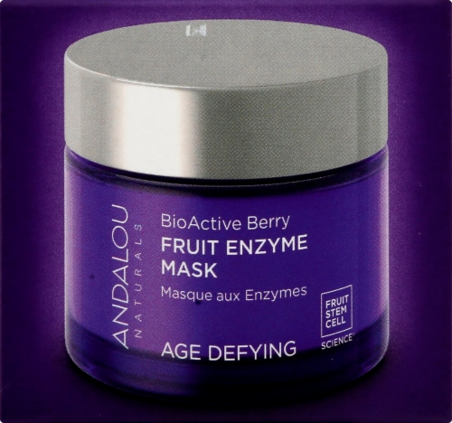 Andalou Naturals BioActive 8 Berry Enzyme Mask Perspective: right
