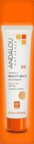 Andalou Naturals Sheer Tint Vitamin C Brightening Beauty Balm SPF 30 Perspective: right