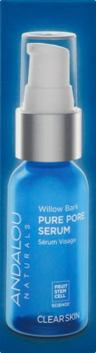 Andalous Naturals Willow Bark Pure Pore Serum Perspective: right