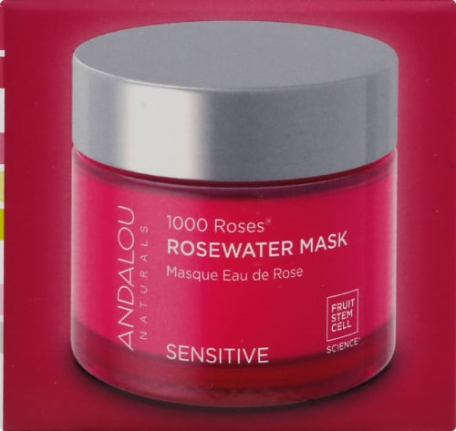 Andalou Naturals 1000 Roses Rosewater Mask Perspective: right