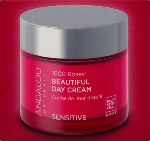 Andalou Naturals 1000 Roses Beautiful Day Cream Perspective: right