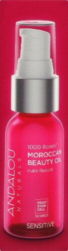 Andalou 1000 Roses Moroccan Beauty Oil Perspective: right