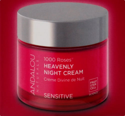 Andalou Naturals 1000 Roses Heavenly Night Cream Perspective: right